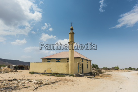 little mosque in bush somaliland somalia
