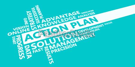 action plan presentation background
