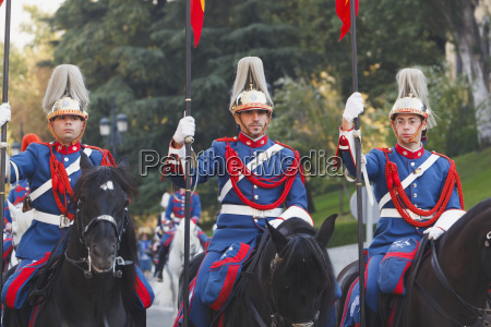 lancers of the royal guard madrid
